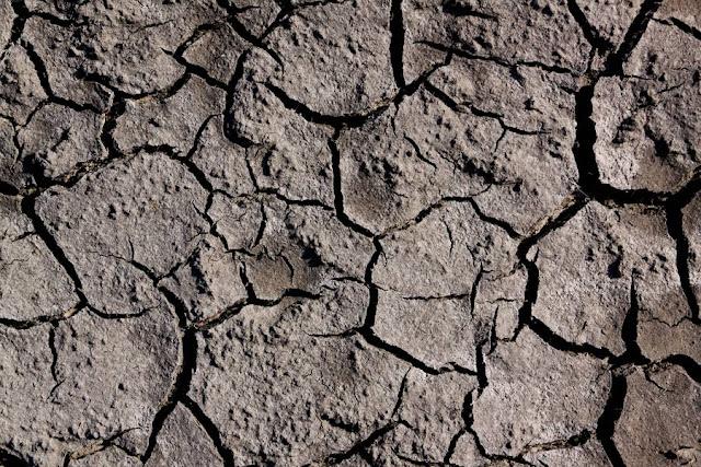 texture terra arida, argilla