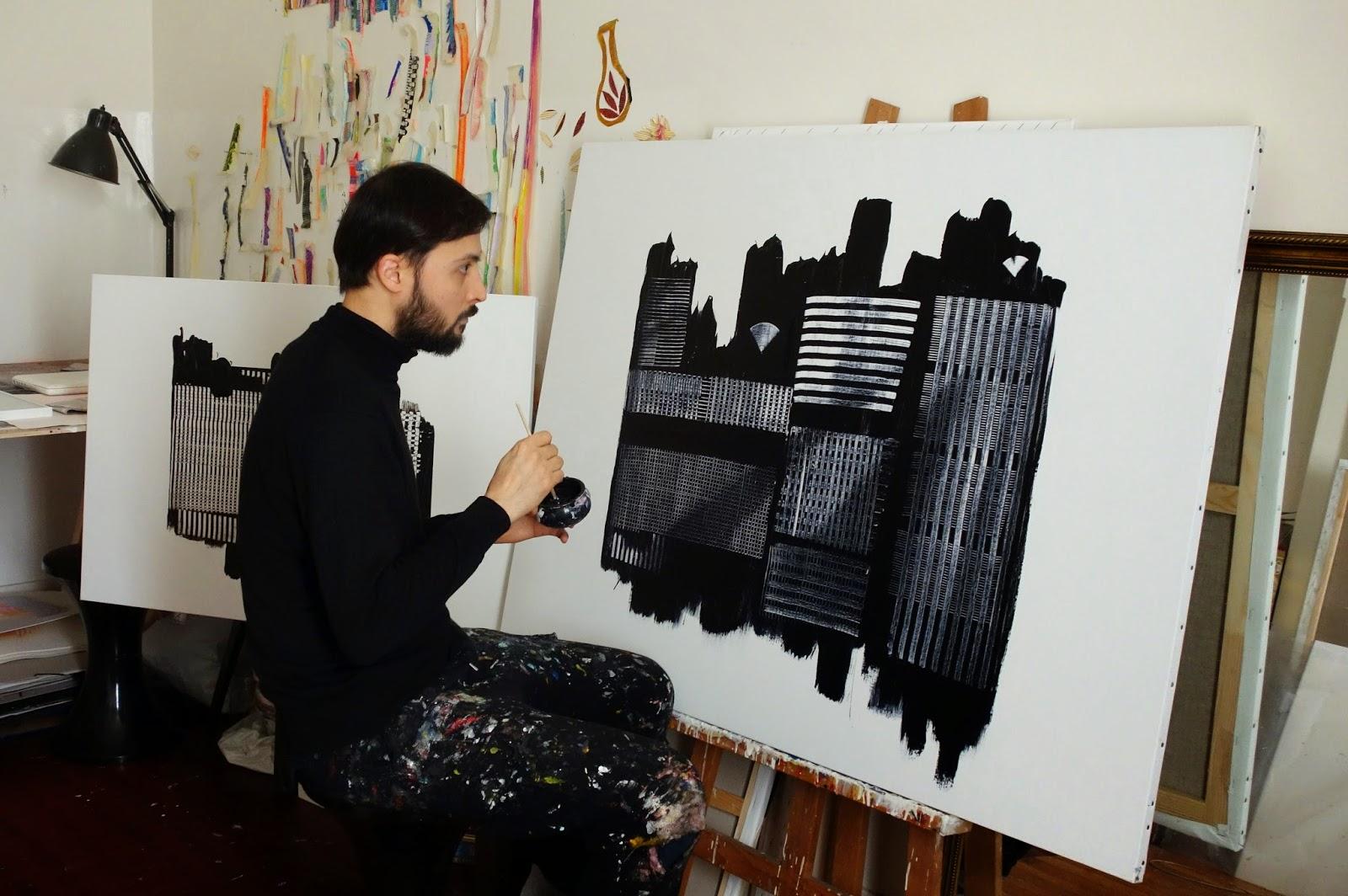 rencontre entre artistes peintre)