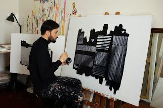 Art : Rencontre avec Arkin Demirel, artiste-peintre parisien - Exposition le 20 et 21 décembre 2015 - 65 rue Meslay - Paris 3