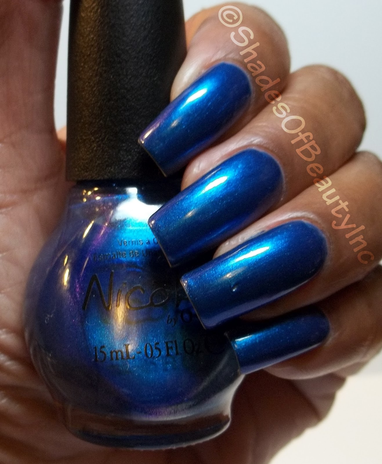 Shades of Beauty, Inc.: NOTD: Nicole by OPI, It\'s Up To You...