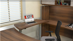 Sit To Stand Executive Desk