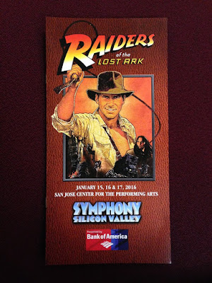 raiders of the lost ark in concert video
