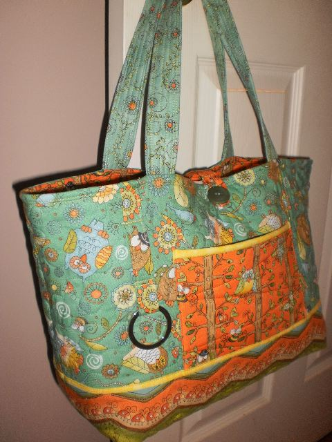 Quilted Knitting Bag Pattern Free : Quilt knit run sew a for baby jack