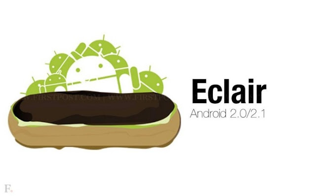 Android Eclair (Android versi 2.0 - 2.1)