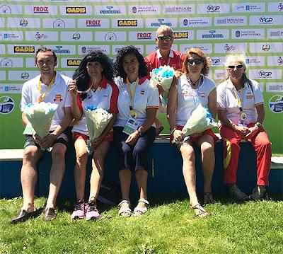 Club Escuela Piragüismo Aranjuez Europeo Maratón Pontevedra