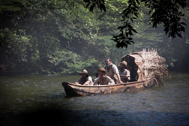 Col. Percival Fawcett river party in The Lost City of Z