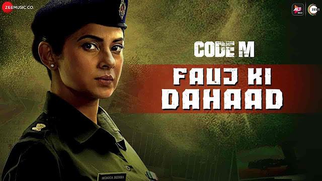 Fauj Ki Dahaad Lyrics - Code M | Mr. BratBeat