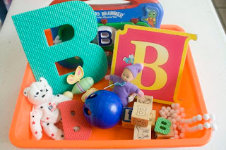How to Make a Letter B Sensory Bin