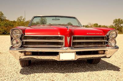 1965 Pontiac Bonneville Convertible Front