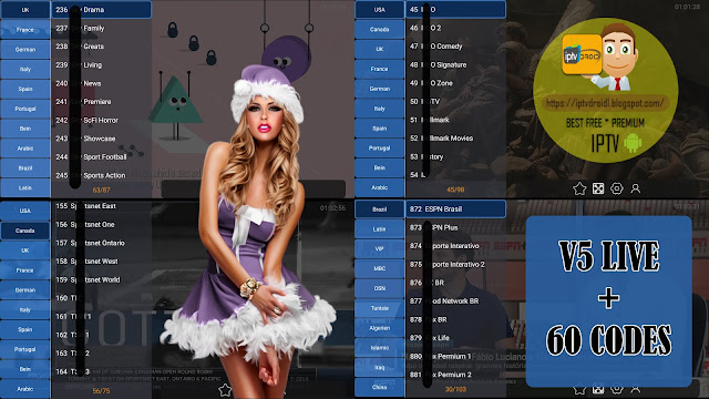 V5LIVE PREMIUM IPTV TO WATCH BEST PREMIUM CHANNELS + 60 CODES