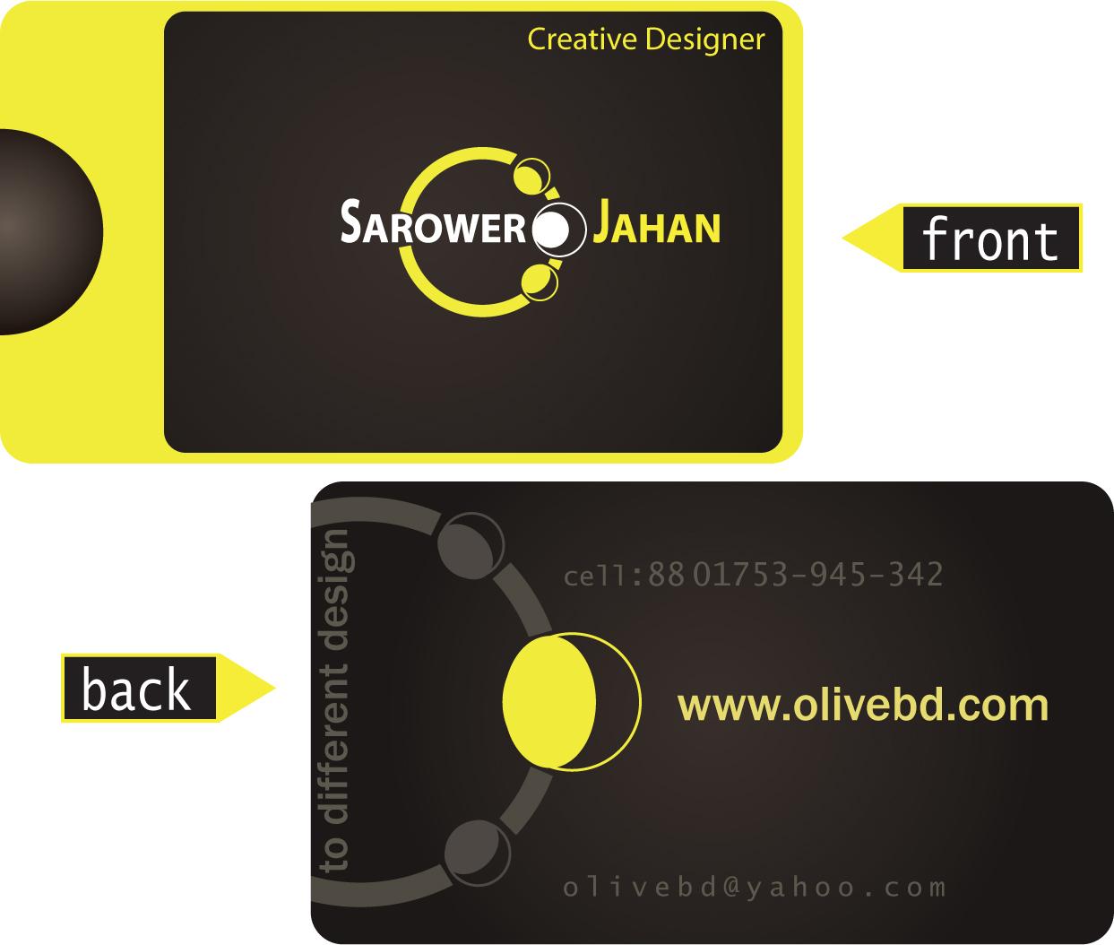 Visiting Card Background Design Sample | psdtemp.net