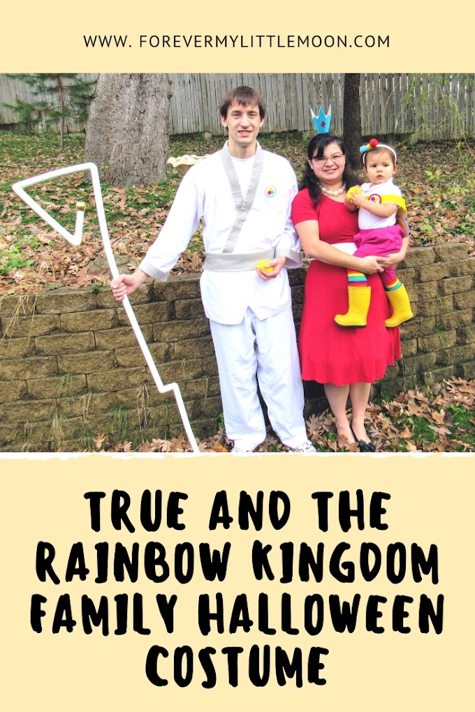 True and The Rainbow Kingdom Family Halloween Costume