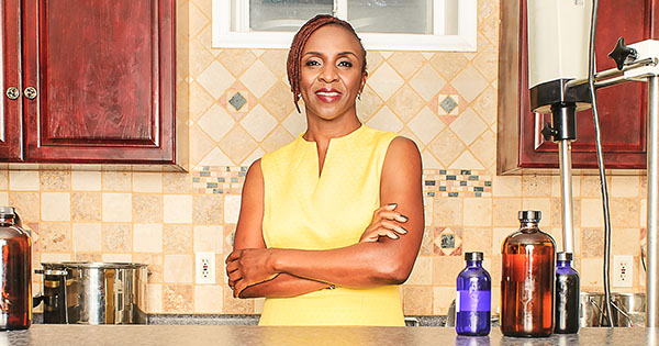 Funlayo Alabi, founder of Shea Radiance