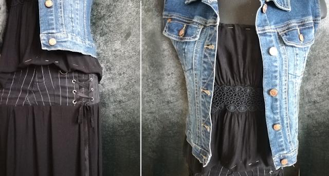 Il mio armadio sostenibile, come riciclare una gonna e un vestito con un tutorial semplice