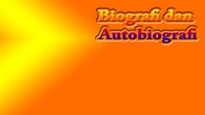 Biografi Dan Autobiografi Perbedaan Contoh Singkat Tulis Planet