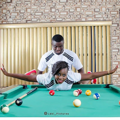 Nigerian couples commend their adoration with unusual pre-wedding photographs