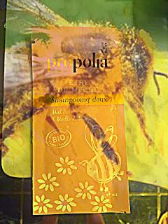 Propolis shampoing bio abeilles soins cheveux