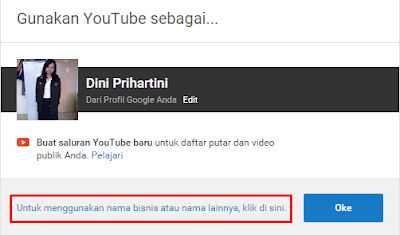 Cara Membuat Chanel Youtube Dengan Nama Author Chanel 2