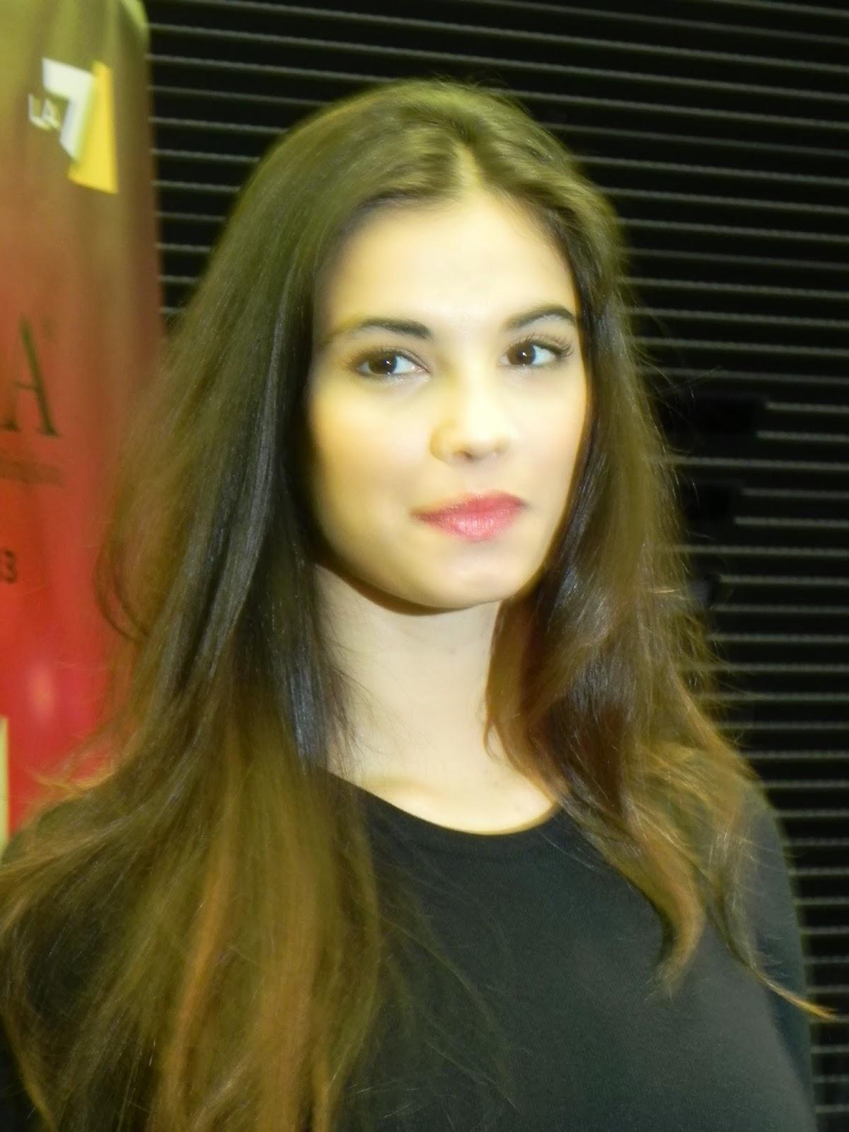 Riflettori sudi Silvia Arosio Miss Italia 2013 le foto della conferenza stampa di