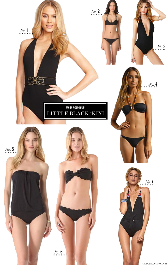 1e4dcf0afb26f Sports Illustrated Cover-Worthy Swim Round-Up  Basic Black   Sporty - Triple  Max Tons