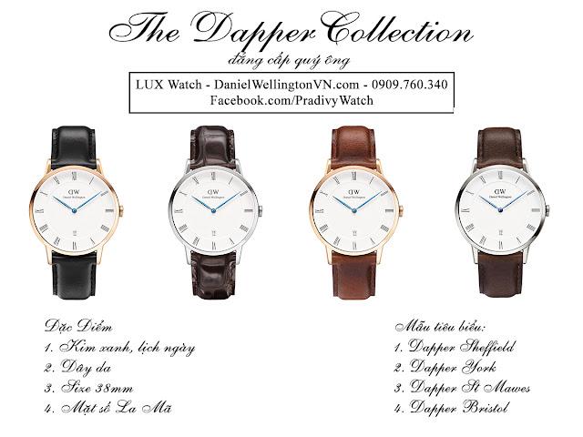 Các mẫu tiêu biểu của DW Dapper