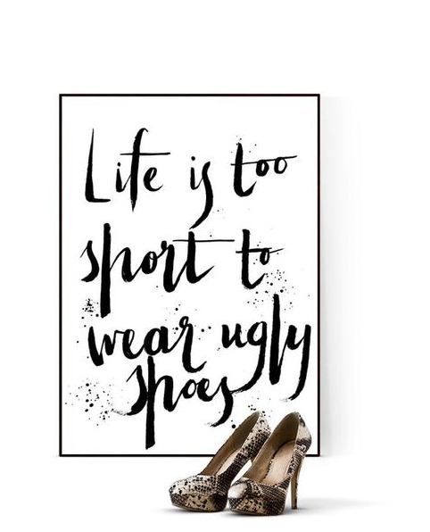 walk in closet, tavla, tavlor, poster, posters, konsttryck, plakat, plakater, webbutik, webbutiker, webshop, inredning, nettbutikk, nettbutikker, anneliesdesign, annelies design interior, annelie palmqvist, skor, tavlor med text, svart och vitt, svartvit, svartita, vitt, vit, vita,