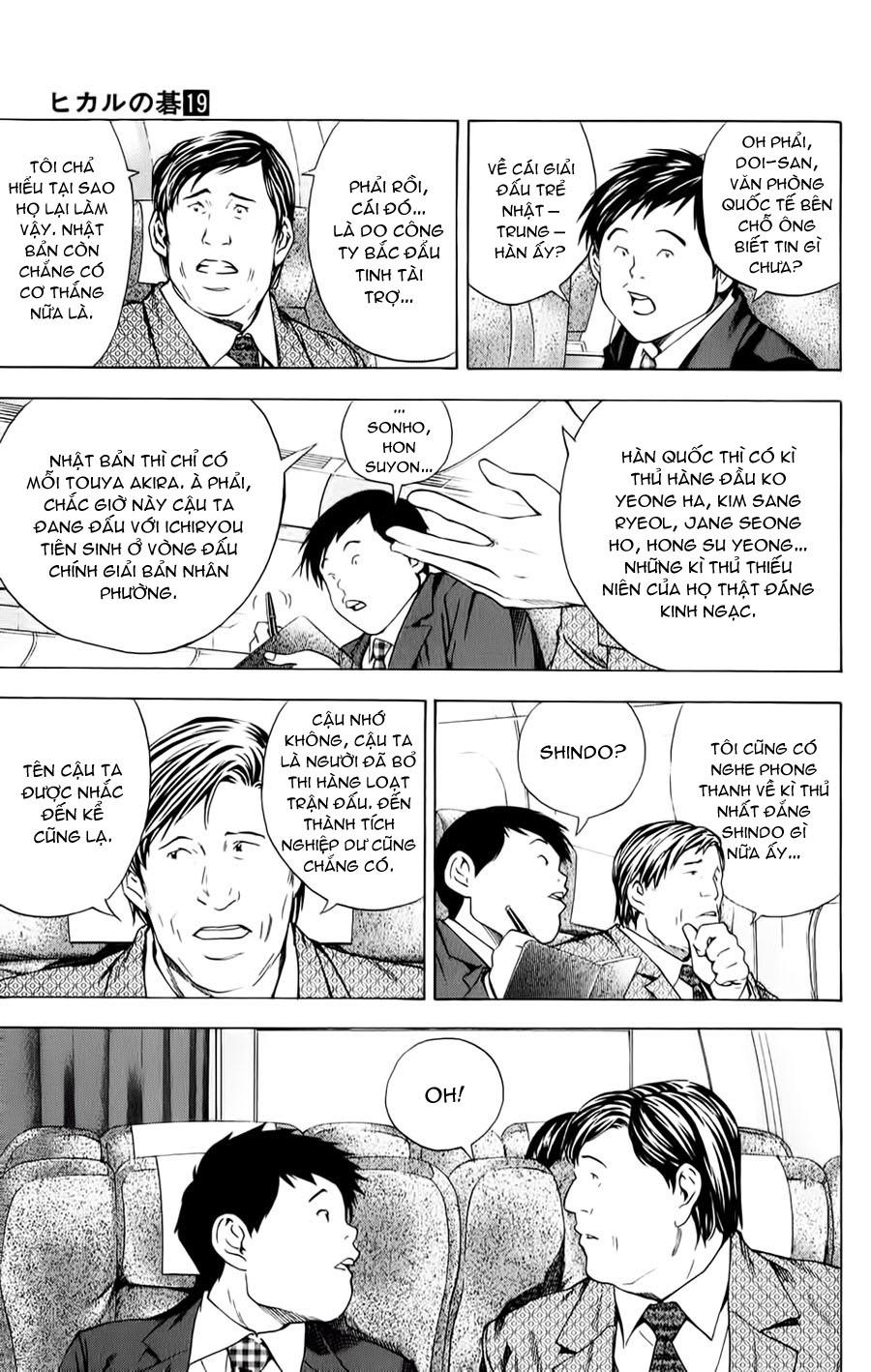 Hikaru No Go hikaru no go chap 150 trang 6
