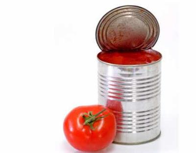 tomat dalam kaleng