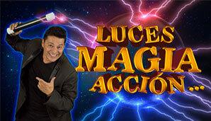 JORGE REY presenta LUCES… MAGIA… ACCIÓN | Un plan en familia en Teatro Belarte...