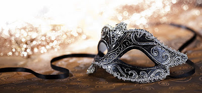 sposa maschera
