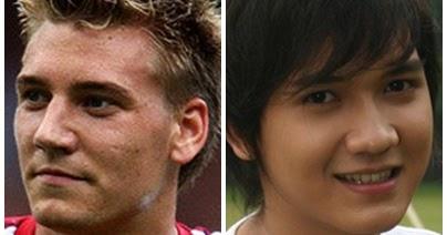 My blog: 7 pemain sepak bola yang mirip dengan artis Indonesia