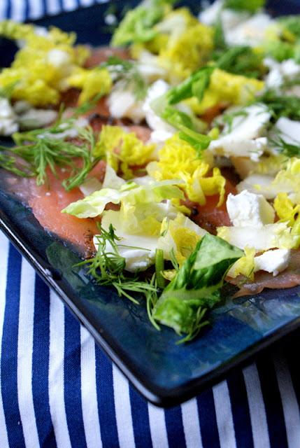łosoś,pan łosoś,suempol,sałatka z łososiem,carpaccio z łososia,katarzyna franiszyn luciano,z kuchni do kuchni,