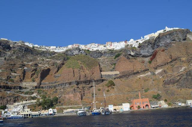 Porto antigo de Santorini