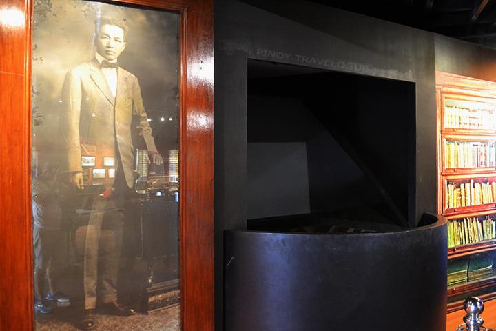 Aguinaldo's life-size portrait