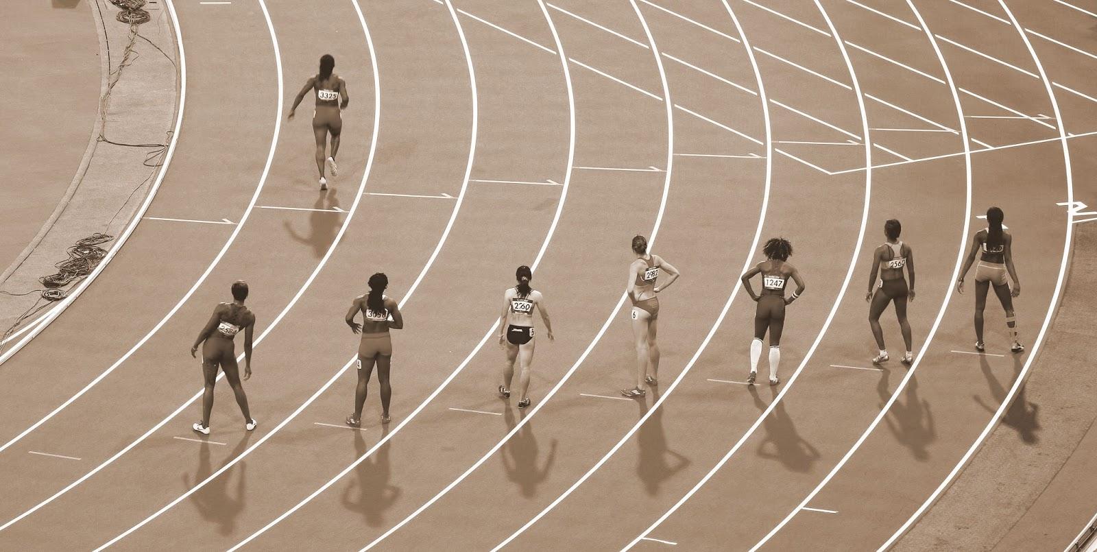 Książki na olimpiadę albo duch sportu na regale