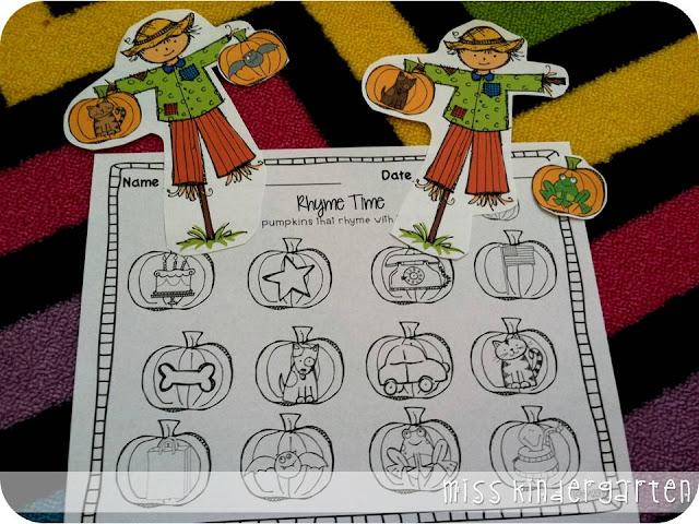 http://www.miss-kindergarten.com/2013/09/fall-math-and-literacy-centers.html