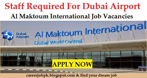 Staff Required for Dubai Airport