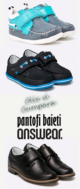 Pantofi pentru baieti Answear