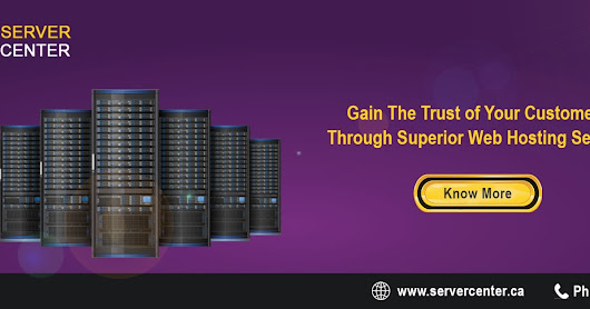 Gain the trust of your customers through superior web hosting service