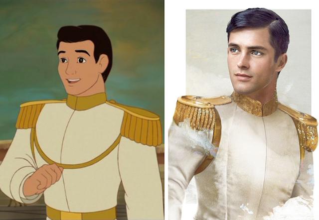 Príncipe encantado, Cinderella