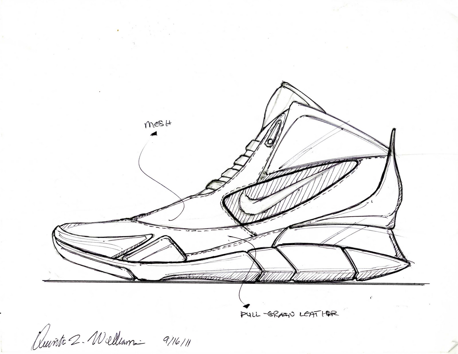 Nike Shoe Design Sketches Shoes Collections