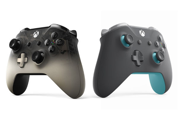 Microsoft releases Xbox Wireless Controller - Phantom Black Special Edition and Xbox Wireless Controller - Grey/Blue