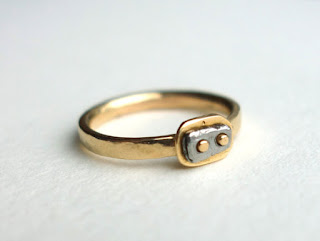 awesome eco-friendly 6th anniversary gift iron ring