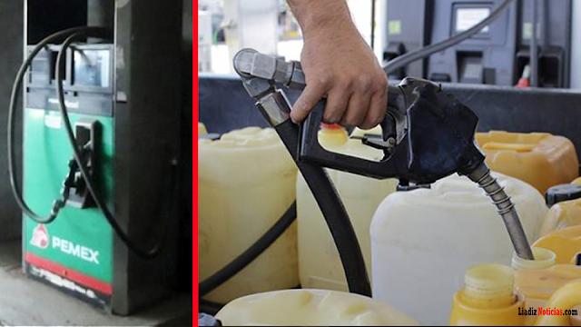 Surge 'MERCADO NEGRO' de gasolina super barata! de a 10 pesos
