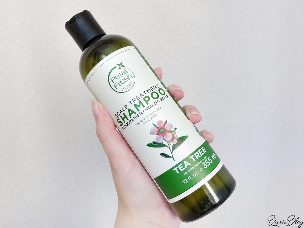 Petal Fresh, Scalp Treatment Tea Tree, szampon do włosów, olejek z drzewa herbacianego, Petal Fresh Tea Tree, szampon do włosów przetłuszczających się