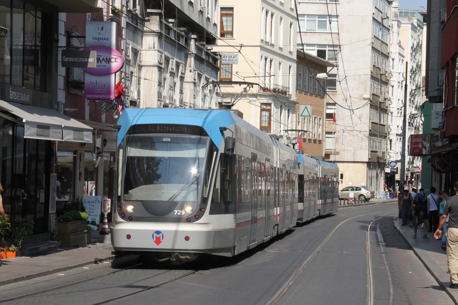 Transporte Publico en Estambul - Viajes a Turquia