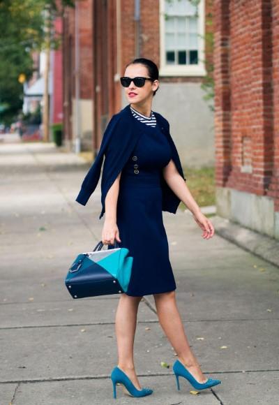 Welche Schuhe Zu Blauem Kleid 2019