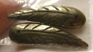 pyrite leaves