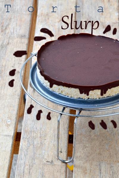 torta con fiocchi avena,cocco e cioccolato