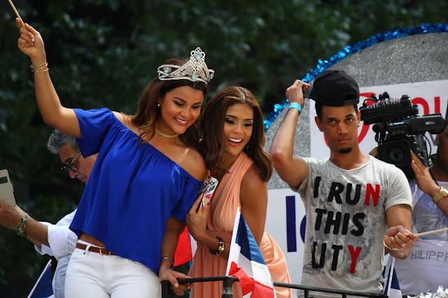 Fotos del desfile dominicano de Manhattan, Nueva York - Francisca Lachapel